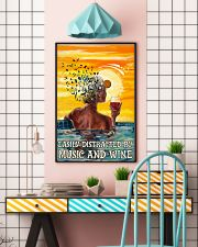 Girl Swim And Wine 24x36 Poster lifestyle-poster-6