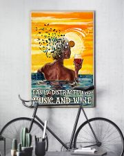 Girl Swim And Wine 24x36 Poster lifestyle-poster-7