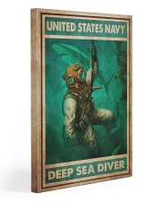 American Diver 2 Gallery Wrapped Canvas Prints tile