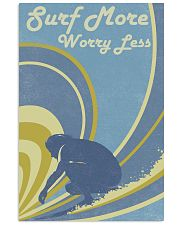 Surf More Worry Less 24x36 Poster front