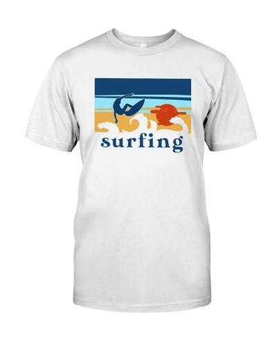 Surfing Sunrise