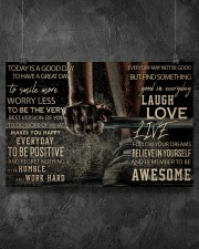 Barbell Today Is A Good Day 36x24 Poster aos-poster-landscape-36x24-lifestyle-11