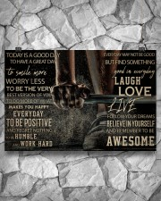 Barbell Today Is A Good Day 36x24 Poster aos-poster-landscape-36x24-lifestyle-12