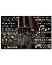 Barbell Today Is A Good Day 36x24 Poster front