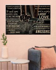 Barbell Today Is A Good Day 36x24 Poster poster-landscape-36x24-lifestyle-18