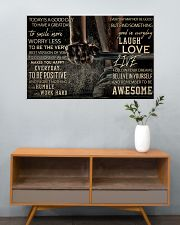Barbell Today Is A Good Day 36x24 Poster poster-landscape-36x24-lifestyle-21