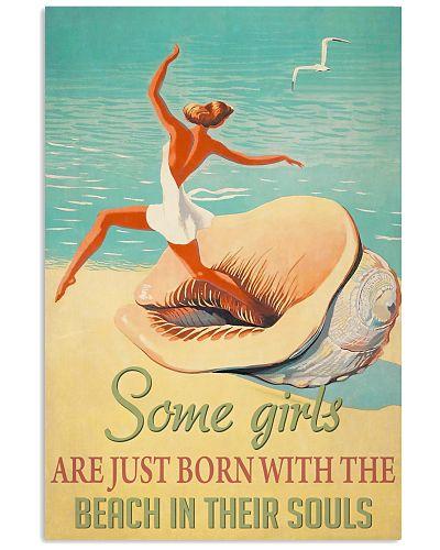 Girl Seashell Born With The Beach