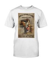 Girl Loved Horses Classic T-Shirt thumbnail