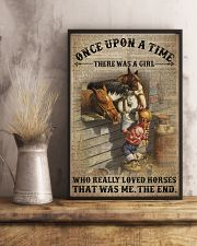 Girl Loved Horses 24x36 Poster lifestyle-poster-3