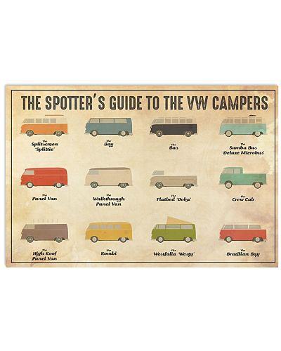 VW Camper Spotter Guide