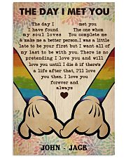 Gay M The Day I Met You  Vertical Poster tile