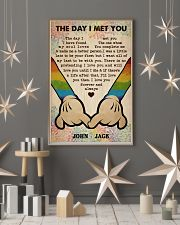 Gay M The Day I Met You  24x36 Poster lifestyle-holiday-poster-1