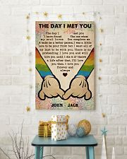 Gay M The Day I Met You  24x36 Poster lifestyle-holiday-poster-3