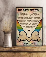 Gay M The Day I Met You  24x36 Poster lifestyle-poster-3