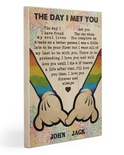 Gay M The Day I Met You  20x30 Gallery Wrapped Canvas Prints thumbnail