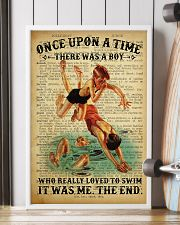 Boy Swimming Dictionary 24x36 Poster lifestyle-poster-4