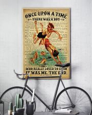 Boy Swimming Dictionary 24x36 Poster lifestyle-poster-7