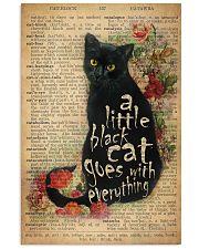 Little Black Cat 24x36 Poster front