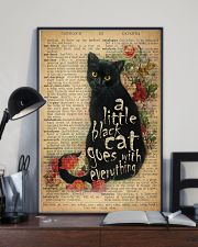 Little Black Cat 24x36 Poster lifestyle-poster-2