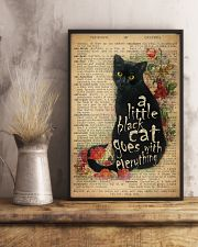 Little Black Cat 24x36 Poster lifestyle-poster-3
