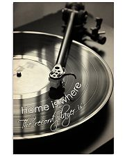 Record Player Home Black -  White  24x36 Poster front