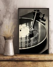 Record Player Home Black -  White  24x36 Poster lifestyle-poster-3
