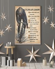 Cycling Life Lessons 24x36 Poster lifestyle-holiday-poster-1