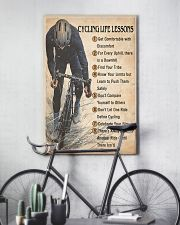 Cycling Life Lessons 24x36 Poster lifestyle-poster-7