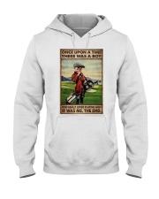 OUAT Boy Loved Golf Hooded Sweatshirt tile