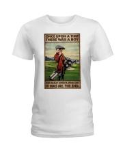 OUAT Boy Loved Golf Ladies T-Shirt tile