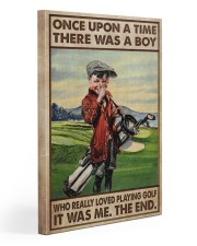 OUAT Boy Loved Golf Gallery Wrapped Canvas Prints tile