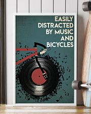 Easily Distracted By Music And Bicycle 24x36 Poster lifestyle-poster-4
