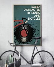 Easily Distracted By Music And Bicycle 24x36 Poster lifestyle-poster-7
