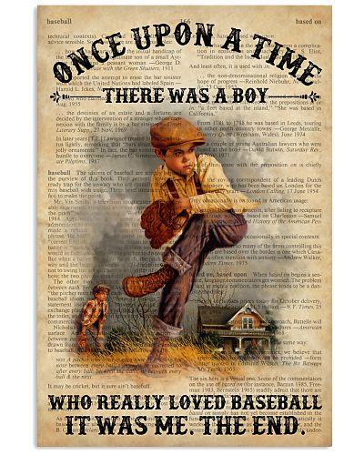 Boy Baseball Dictionary