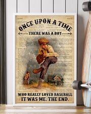 Boy Baseball Dictionary 24x36 Poster lifestyle-poster-4