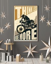 Think Less Ride More 24x36 Poster lifestyle-holiday-poster-1