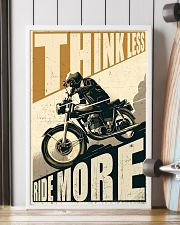 Think Less Ride More 24x36 Poster lifestyle-poster-4