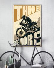 Think Less Ride More 24x36 Poster lifestyle-poster-7