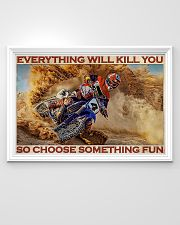 Motorcross On Sand 36x24 Poster poster-landscape-36x24-lifestyle-02
