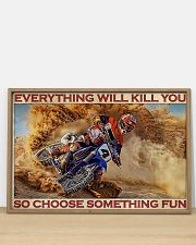 Motorcross On Sand 36x24 Poster poster-landscape-36x24-lifestyle-03