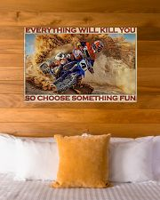 Motorcross On Sand 36x24 Poster poster-landscape-36x24-lifestyle-23