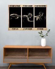 Triathlon It's My Life  36x24 Poster poster-landscape-36x24-lifestyle-21