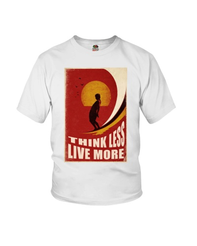 Surfing Think Less Live More