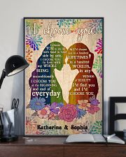 Lesbian Couple 24x36 Poster lifestyle-poster-2