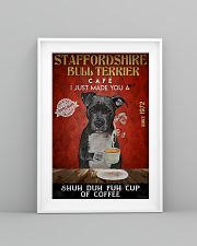 Staffordshire Bull Terrier Shuh Duh Fuh Cup Coffee 24x36 Poster lifestyle-poster-5