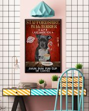 Staffordshire Bull Terrier Shuh Duh Fuh Cup Coffee 24x36 Poster lifestyle-poster-6