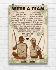 Fishing Couple We Are A Team 24x36 Poster aos-poster-portrait-24x36-lifestyle-17