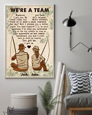 Fishing Couple We Are A Team 24x36 Poster lifestyle-poster-1