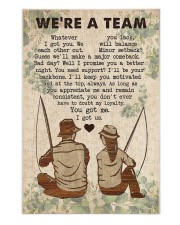 Fishing Couple We Are A Team 250 Piece Puzzle (vertical) thumbnail