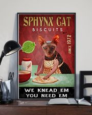 Sphynx Cat We Knead Em 24x36 Poster lifestyle-poster-2